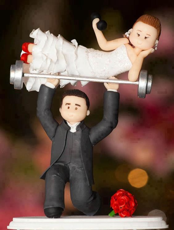 15 Funny Wedding Cake Toppers to Make Your Guests Laugh! - WeddingInclude