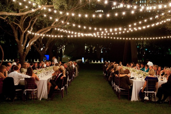 outdoor wedding reception lighting ideas light up your wedding with these 18 string lights ideas