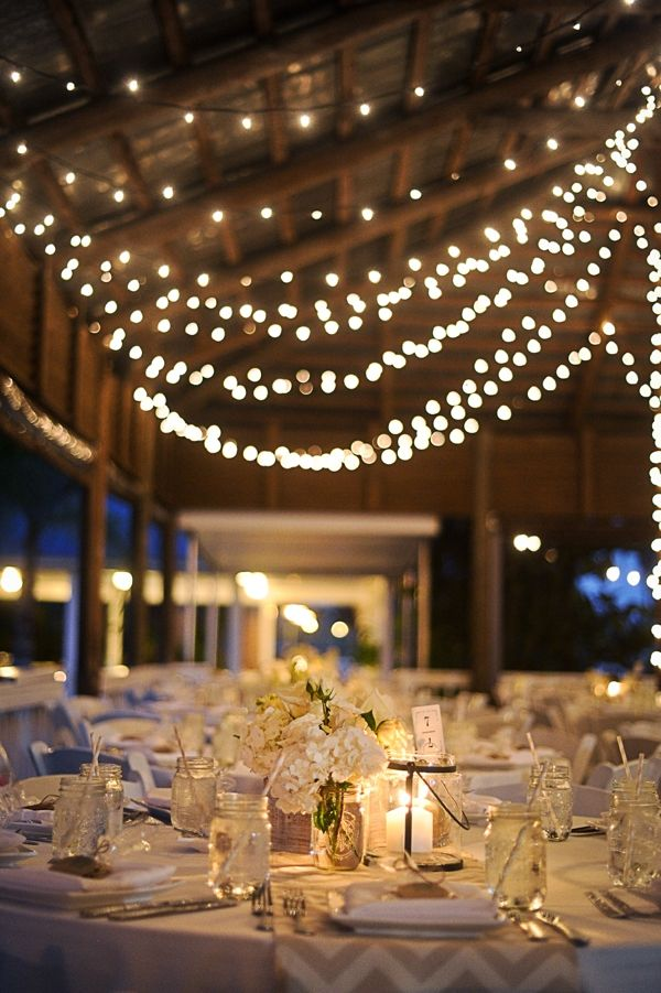 Light up your wedding with these 18 string lights ideas junglespirit Gallery