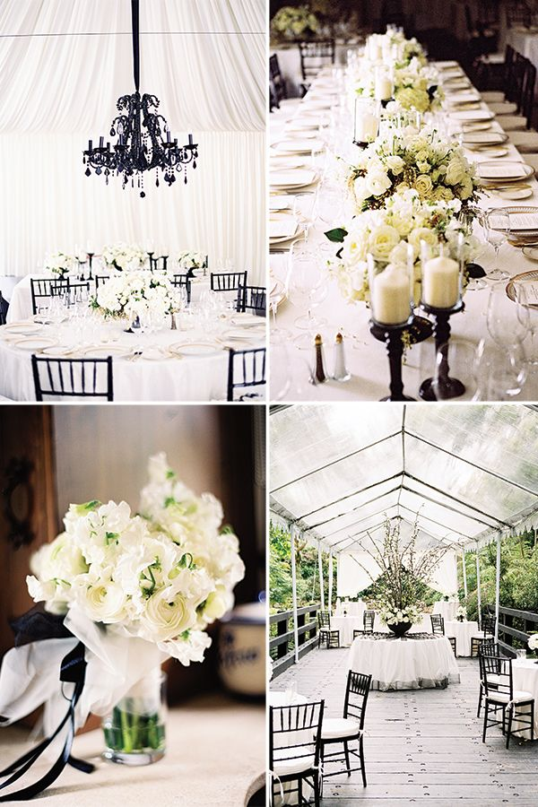 20 Reasons Why We Love Black And White Wedding Ideas