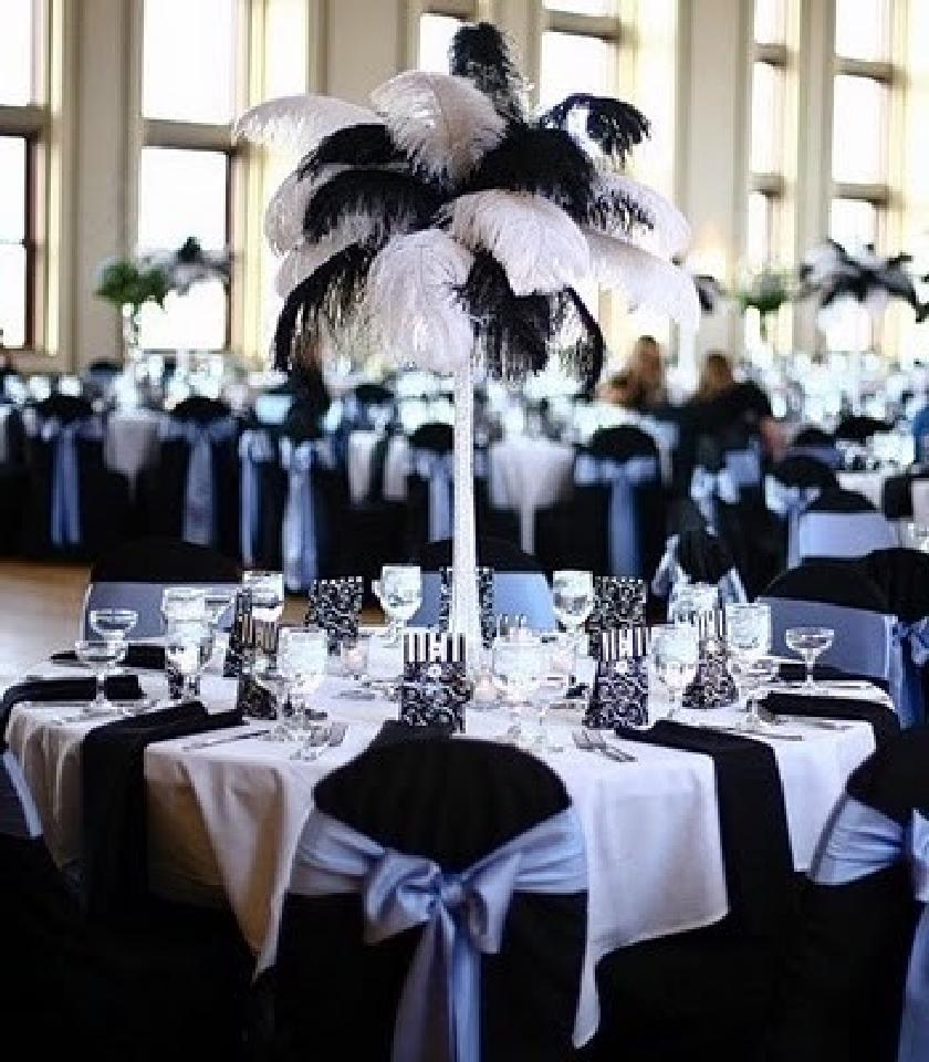 808999353810 20 Reasons Why We Love Black and White Wedding Ideas