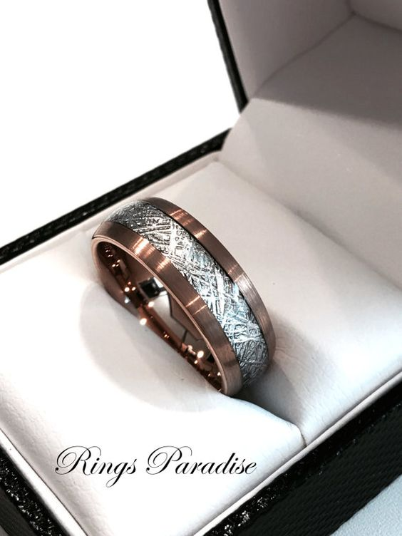 Rose Gold Wedding Band, Engagement Rings