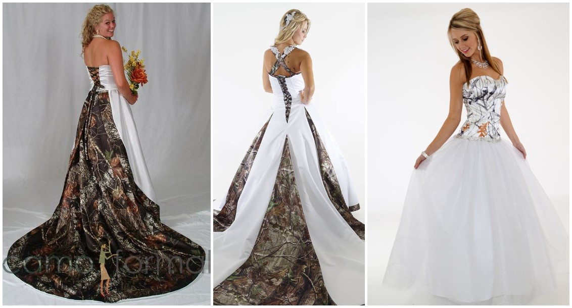 20 Camo Wedding Dresses Ideas To Make Your Big Day One Of A Kind