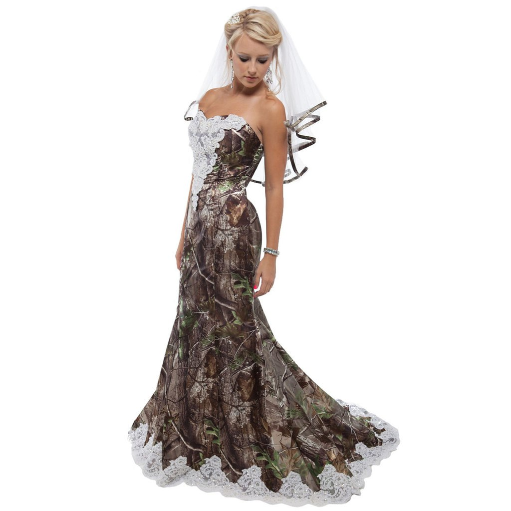 Classy Camo Wedding Ideas: 20 Camo Wedding Dresses Ideas To Make Your Big Day One Of