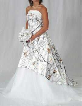4beefaae489 20 Camo Wedding Dresses Ideas to Make Your Big Day One of a Kind