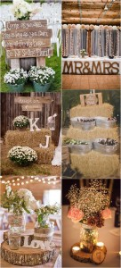 Rustic Country Wedding Ideas
