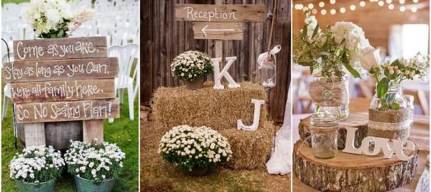 Rustic Wedding Ideas | WeddingInclude | Wedding Ideas Inspiration Blog