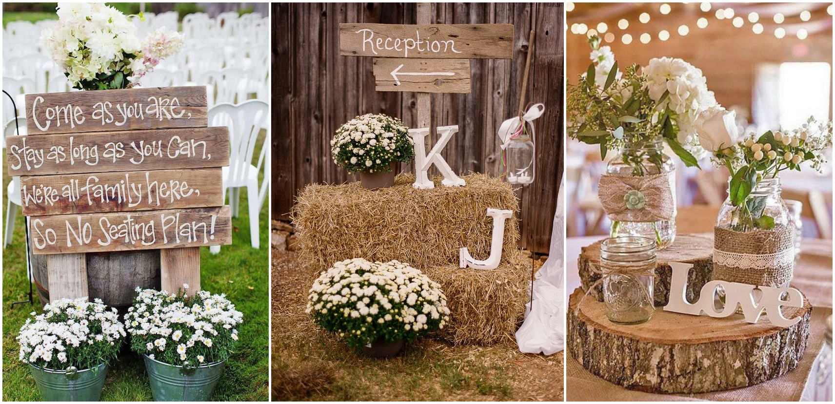 Rustic Country Wedding Ideas to Shine