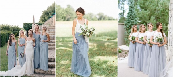 Dusty Blue Bridesmaid Dresses Your Girls Can't Resist!