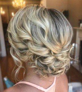Chic and Stylish Wedding Hairstyles for Short Hair_04