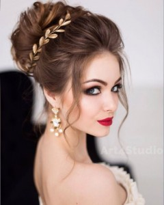 Chic and Stylish Wedding Hairstyles for Short Hair_09