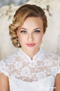 Chic and Stylish Wedding Hairstyles for Short Hair_21