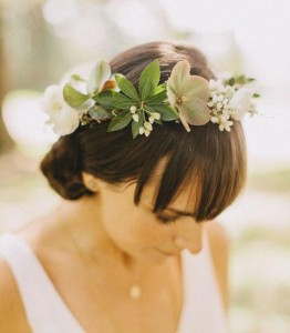Chic and Stylish Wedding Hairstyles for Short Hair_49