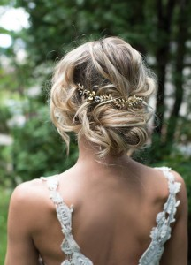 Chic and Stylish Wedding Hairstyles for Short Hair_29