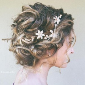 Chic and Stylish Wedding Hairstyles for Short Hair_43