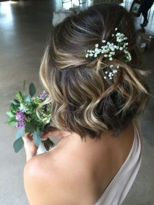 Chic and Stylish Wedding Hairstyles for Short Hair_46