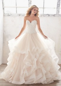 Flattering Wedding Dresses That Complete Your Bridal Look -ball gown wedding dresses 2