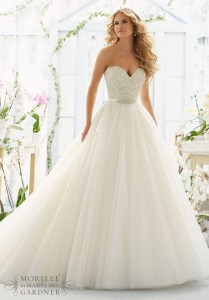 Flattering Wedding Dresses That Complete Your Bridal Look - ball gown wedding dresses