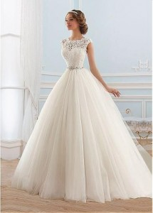 Flattering Wedding Dresses That Complete Your Bridal Look -ball gown wedding dresses 4