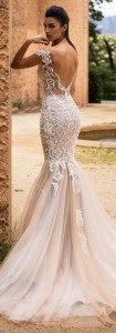 Flattering Wedding Dresses That Complete Your Bridal Look - open back wedding dresses