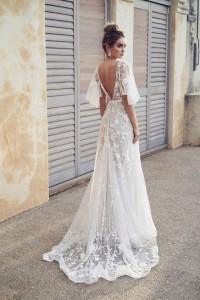 Flattering Wedding Dresses That Complete Your Bridal Look - open back wedding dresses 3