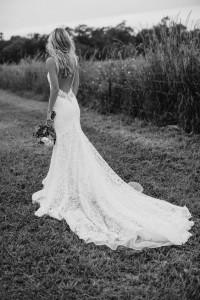 Flattering Wedding Dresses That Complete Your Bridal Look - open back wedding dresses - 4