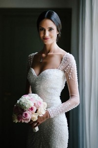 Flattering Wedding Dresses That Complete Your Bridal Look - wedding dresses with long sleeves