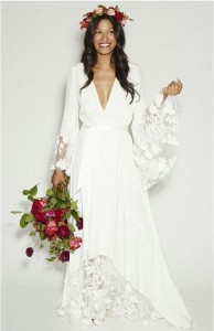 How to Choose Amazing Beach Wedding Dresses03