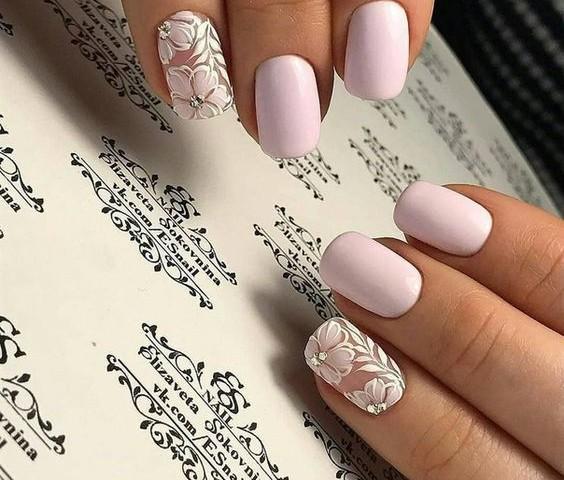 Perfect Wedding Nail Ideas to Shine 04