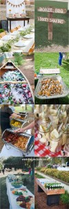 Charming Backyard BBQ Wedding Ideas For Couples_