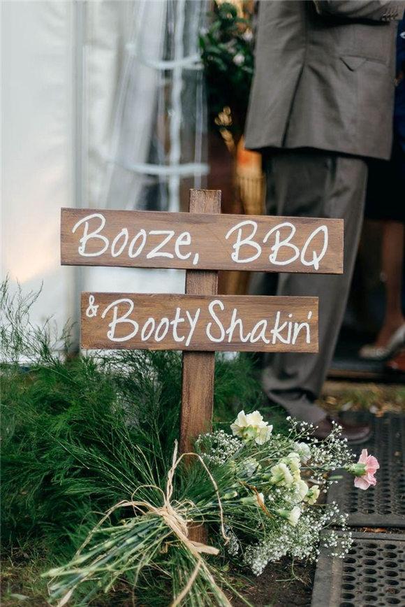 Bbq wedding decoration ideas
