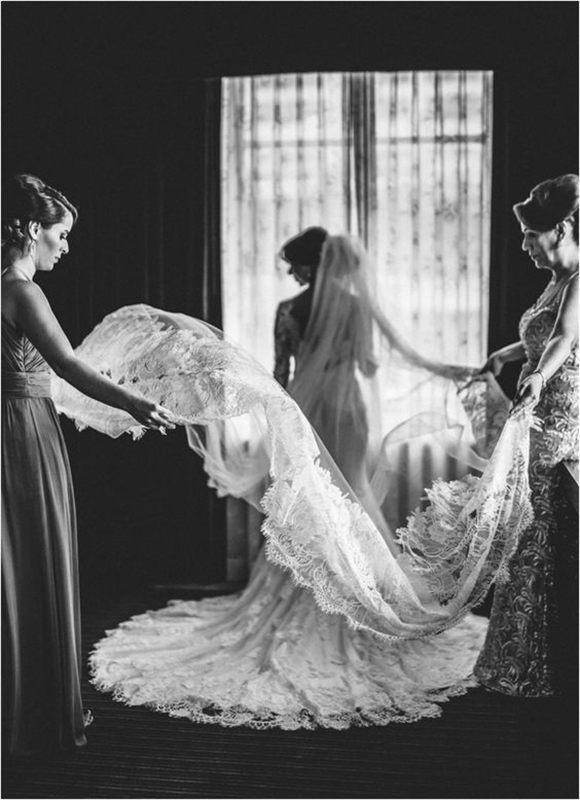 Mother of the bride and bridesmaid