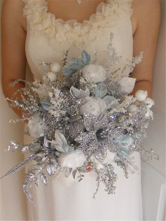 Beautiful Sparkly! Winter wedding!!