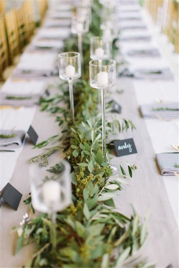 Use Greenery in your Wedding Decor and Save Money!