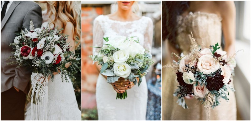 Winter Wedding Bouquet Ideas You Must Have