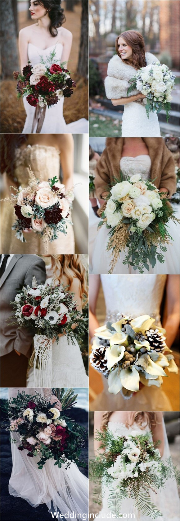 Winter Wedding Bouquet Ideas You Must Have!