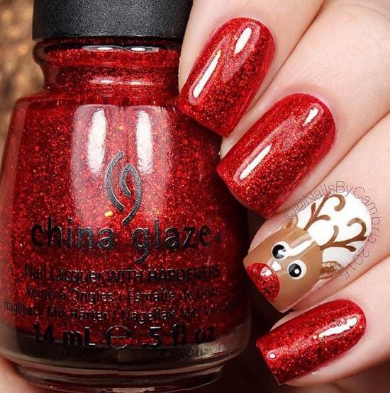 Christmas Nail Art Design Ideas That Are In Trend_1