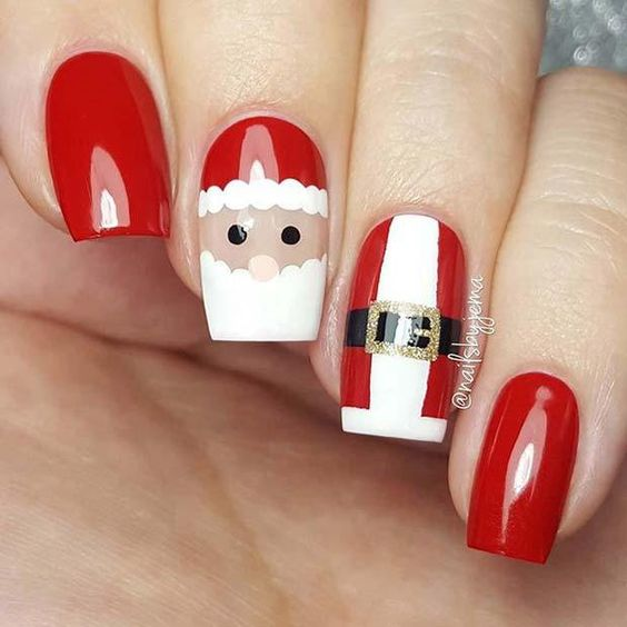 Christmas Nail Art Design Ideas That Are In Trend_11