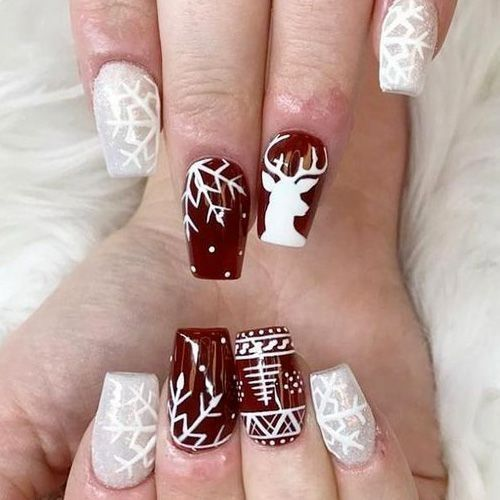 Christmas Nail Art Design Ideas That Are In Trend_13