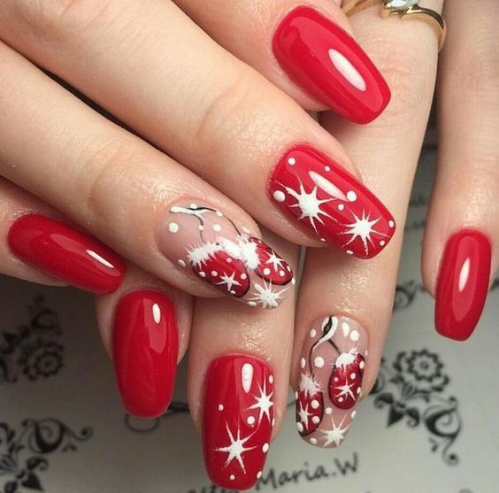 Christmas Nail Art Design Ideas That Are In Trend_15