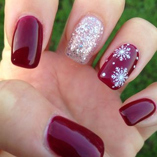 Christmas Nail Art Design Ideas That Are In Trend_2