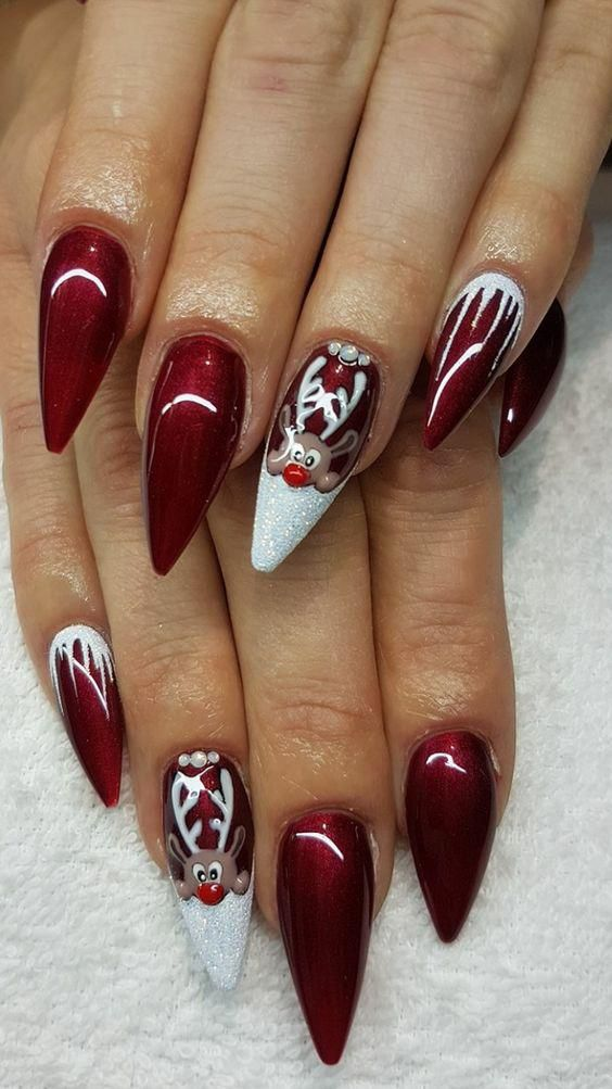 Christmas Nail Art Design Ideas That Are In Trend_5