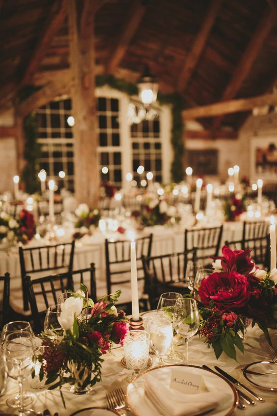 The Coziest Christmas Wedding at Home