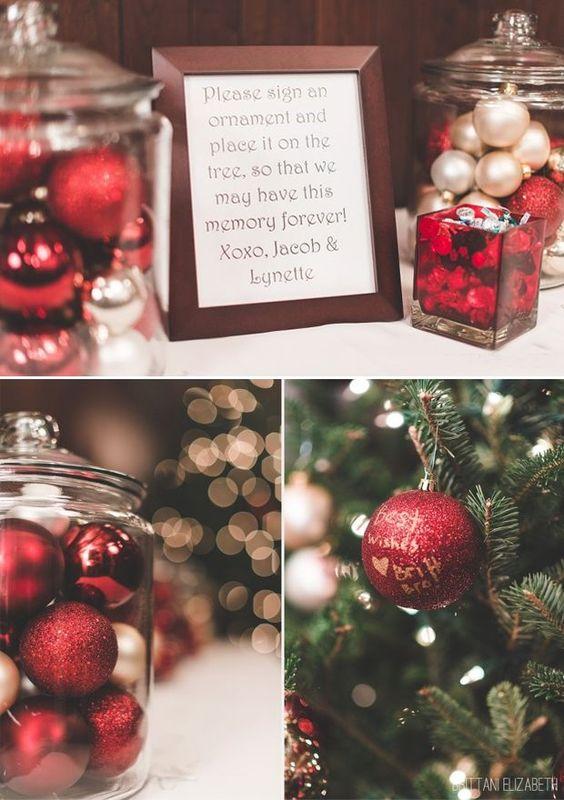 Fabulously Festive Christmas Wedding Ideas