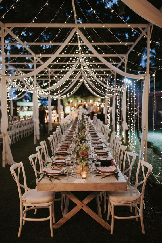 Outdoor Wedding Reception Ideas for Your Wedding (18)