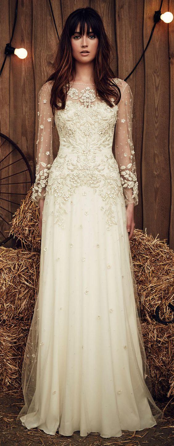 Rustic wedding dress ideas