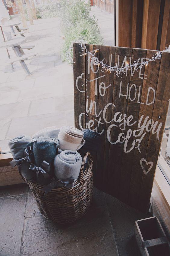Chic & Rustic Grey Barn Wedding