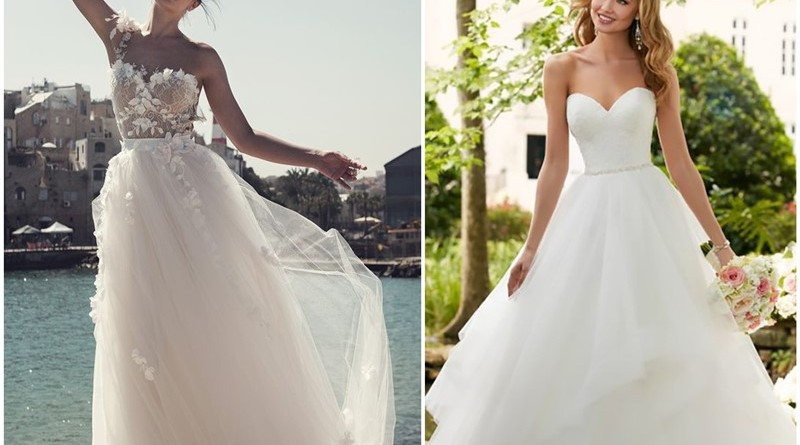 20 Timeless and Elegant Strapless Wedding Dresses