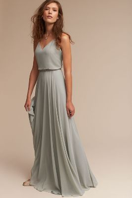Gorgeous Grey Bridesmaid Dresses (1)