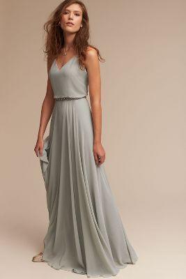 Gorgeous Grey Bridesmaid Dresses (1)